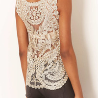 **Ellen Embroidered Vest by Navy - New In This Week - New In - Topshop USA