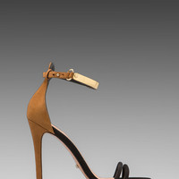Schutz Celina Heel in Black/Brown