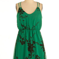 Greenery Goddess Dress | Mod Retro Vintage Dresses | ModCloth.com