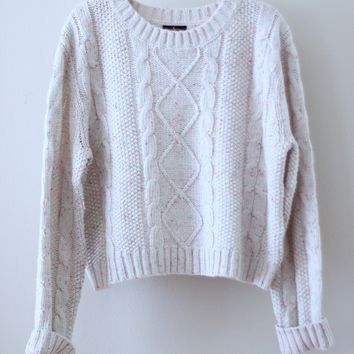 Cupcake Cable Knit