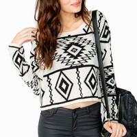 Tribal Print Sweater