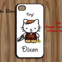 MasterSleeve Daryl Dixon kitty - iPhone 4/4s, 5/5c - Samsung S3 i9300, S4 i9500 - iPod 4, 5
