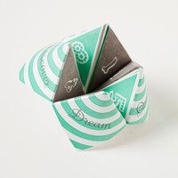 Letterpress Fortune Teller Cootie Catcher by sycamorestreetpress