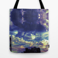 Closed Eye Sheet Music Tote Bag by Ben Geiger