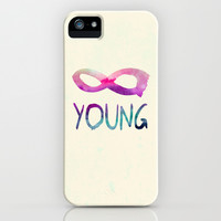 Forever Young iPhone & iPod Case by Jacqueline Maldonado