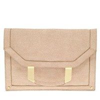 ASOS | ASOS Metal Handle Fold-Over Clutch at ASOS
