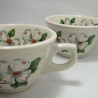 Two Vintage Syracuse China Restaurant Cups in by QuietRainz