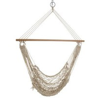 Castaway Single Cotton Rope Swing