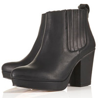 ALEXY Platform Chelsea Boots - Boots  - Shoes