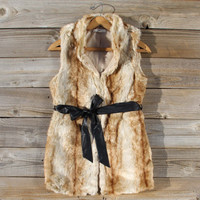Snow Spell Faux Fur Vest