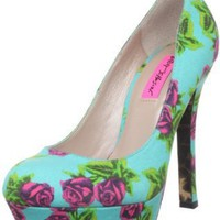 Amazon.com: Betsey Johnson Women&#x27;s Diskko Pump: Betsey Johnson: Shoes