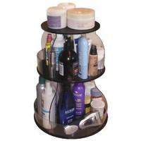 Amazon.com: Makeup & Cosmetic Organizer That Spins for Easy Access to all your Beauty Essentials, NO More Clutter!Save Space on Bathroom Counter. Great Mother's Day Gift...Made in the USA!: Beauty