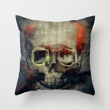the freak Throw Pillow by Dirk Wuestenhagen Imagery