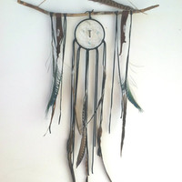 Large OOAK bohemian dream catcher. // boho, home decor ready to ship, one of a kind, dreamcatcher, gift