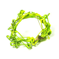 CONCEPTSMITHING: Camouflage Brooch Neon Yellow, at 17% off!