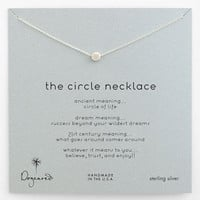 Dogeared 'Reminder - The Circle' Boxed Pendant Necklace