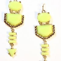Neon Geo Earrings