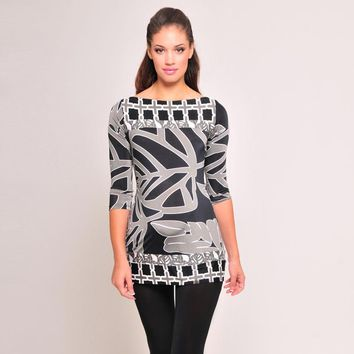 Olian 3/4 Sleeve Tunic