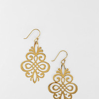 Delicate Scroll Earring - Urban Outfitters