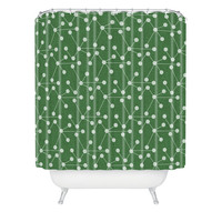DENY Designs Home Accessories | Holli Zollinger Molecules Shower Curtain