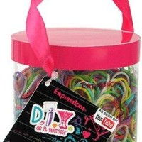 Expressions Girl / D.I.Y. 1200-piece Rainbow Color Latex-free Rubber Band Bracelet Refill Loom Pack