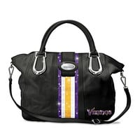 "Minnesota Vikings ""Twin Cities Chic"" Handbag"