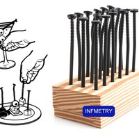 INFMETRY:: Nail Style Fruit Fork - Home&Decor