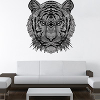 Black Tiger Wall Decal