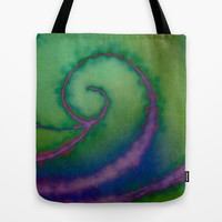 Casino Swirls Tote Bag by RDelean