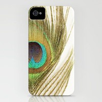 Peacock Feather iPhone Case by Kimberly Blok | Society6