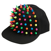 Happy Studded Baseball Hat | Shop Just Arrived at Wet Seal
