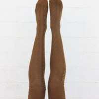 Knee High Socks - Mocha