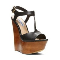 Steve Madden - CHAYSER BLACK LEATHER