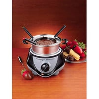 Nostalgia Electrics  Fondue Pot, Stainless Steel FPR200