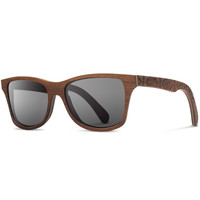 Shwood x Pendleton Canby/Walnut Basket Maker Grey Polarized Sunglasses