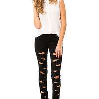 The Z Cut Jean in Black