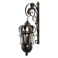 IMAX Balfour Lantern with Bracket - 5737 - Candles & Holders - Decorative Accents - Decor