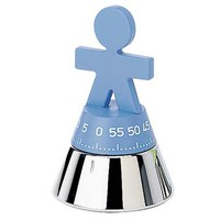 Alessi Girotondo Kitchen Timer Blue
