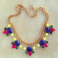 Pree Brulee - Madras Necklace