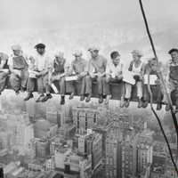 Lunch Atop a Skyscraper, c.1932 Print by Charles C. Ebbets at eu.art.com