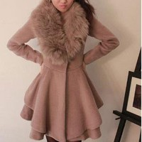 All low-key luxury fur Fox Fur Collar by mili on Sense of Fashion