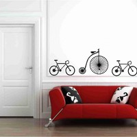 Bicycles Wall Vinyl Decals Sticker | Luulla