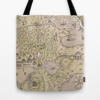 Rough Terrain Tote Bag by Ben Geiger