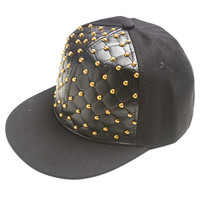 Quilted Stud Baseball Cap | Shop Just Arrived at Wet Seal