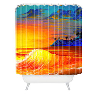 DENY Designs Home Accessories | Madart Inc. Tropical Vision 2 Shower Curtain