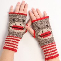 Sock Monkey Handwarmers - Whimsical & Unique Gift Ideas for the Coolest Gift Givers