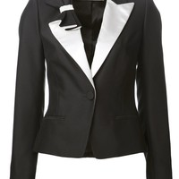 Viktor & Rolf Pleated Bow Tux Jacket - Forty Five Ten - Farfetch.com