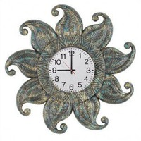 RAM Gameroom Dark Sun Outdoor Clock - ODR279-C - Clocks - Decorative Accents - Decor