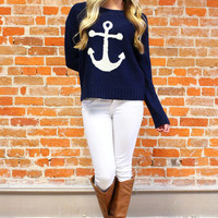 The Sailor's Way Sweater - Navy