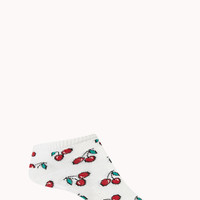 Lucky Cherry Ankle Socks